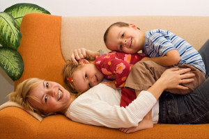 stay-at-home-mom-with-two-children